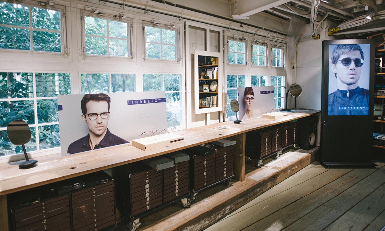 LINDBERG on display at Tokyo hot spot