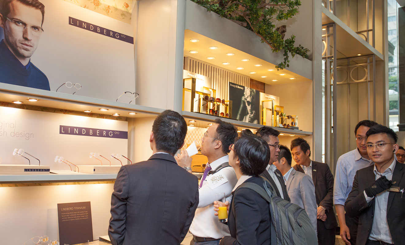 VIP collection preview at Puyi, Hong Kong