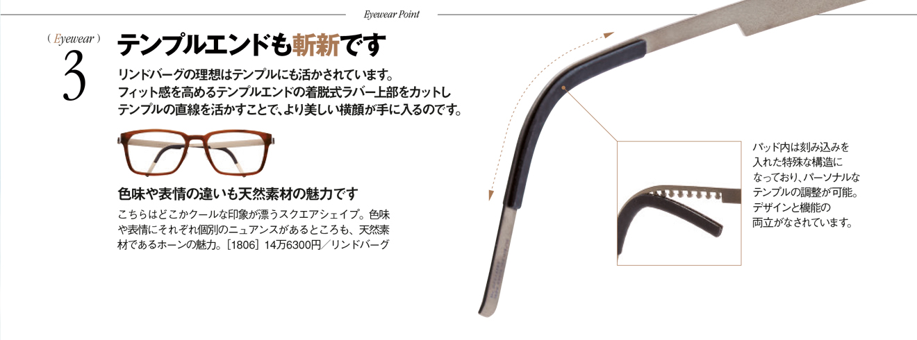 LINDBERG  horn frames put to the test in LEON magazine