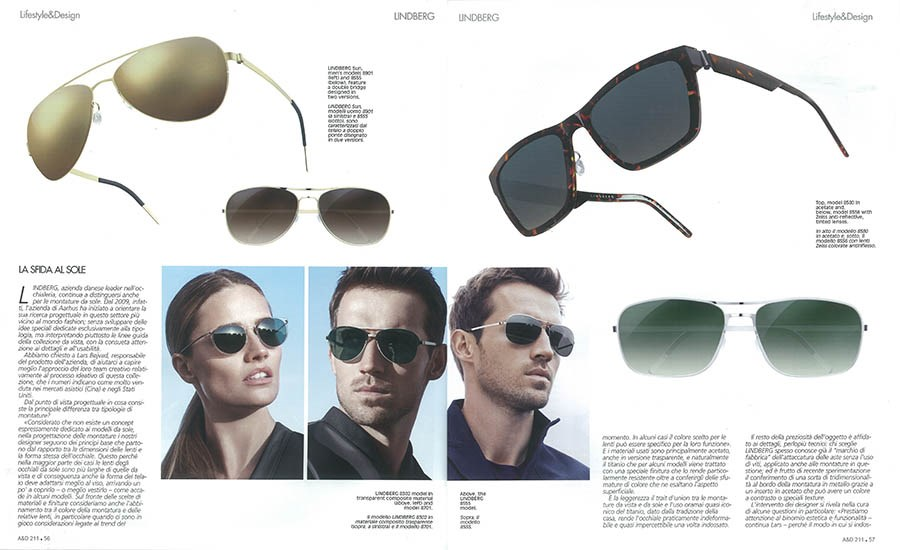Auto & Design explores the success behind LINDBERG Sunglasses