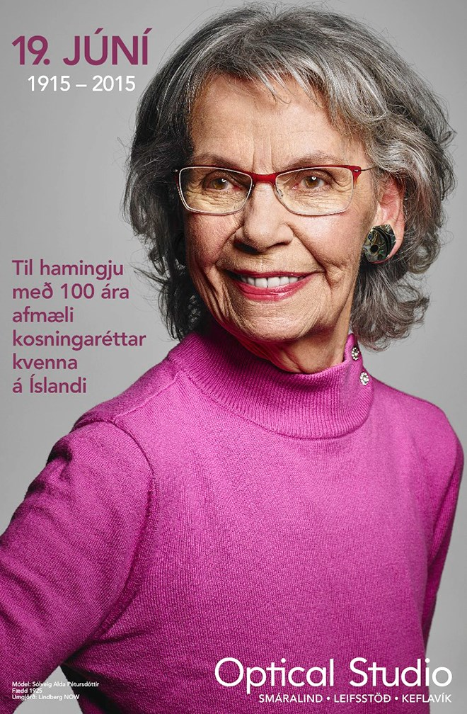 Optical Studio, Iceland celebrates 100 years of women's right to vote