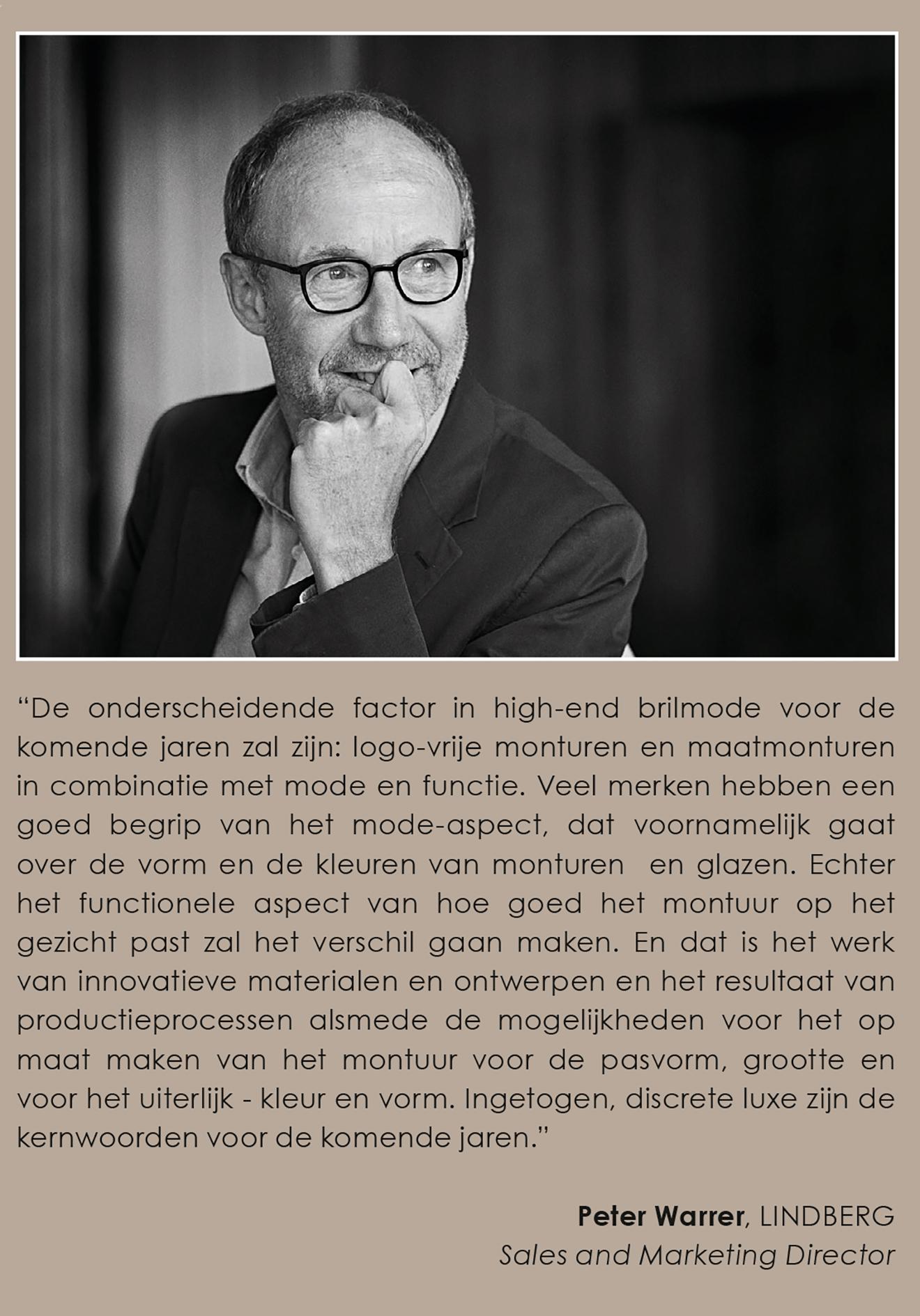Dutch Stijl & Allure Magazine goes behind the Spirit of LINDBERG