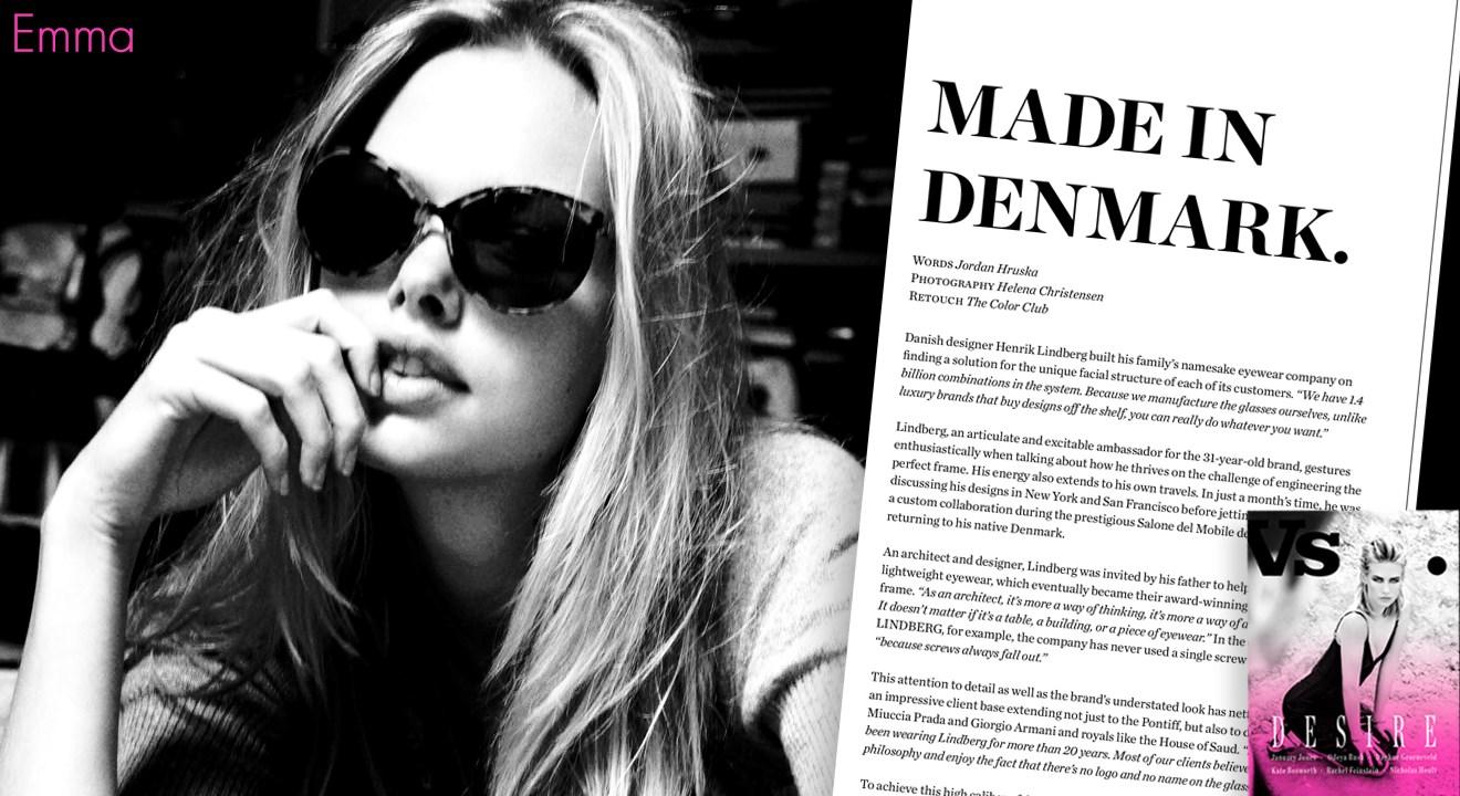 LINDBERG · Vs. Magazine and Helena Christensen focus on LINDBERG ...