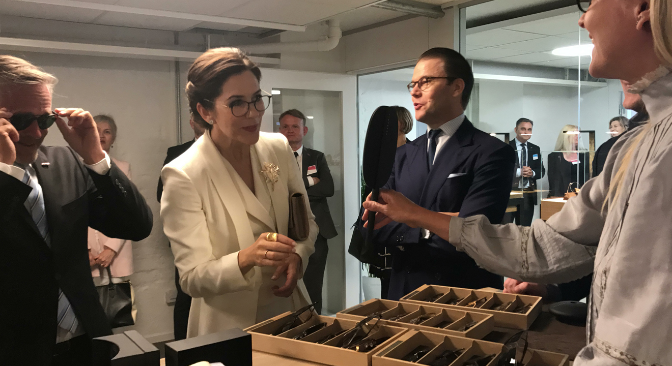 LINDBERG joined Danish Royal Visit to Sweden