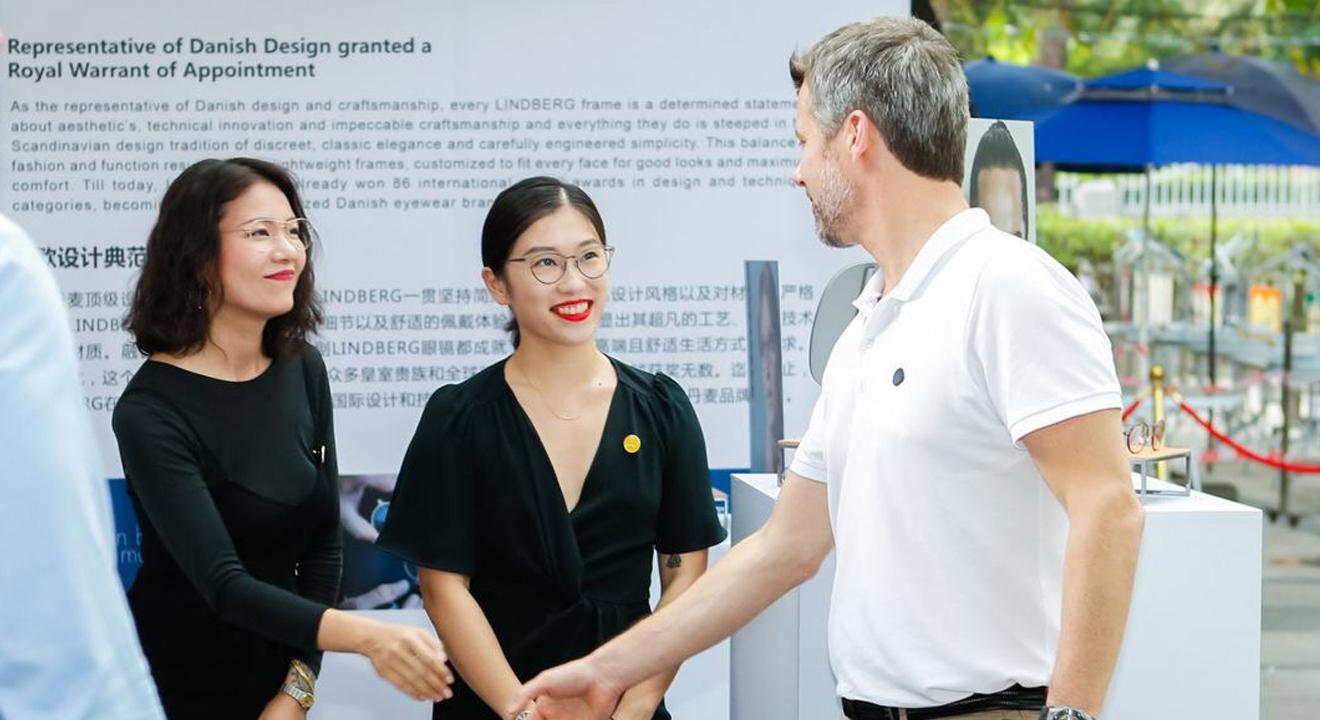 Royalty visits LINDBERG in Guangzhou