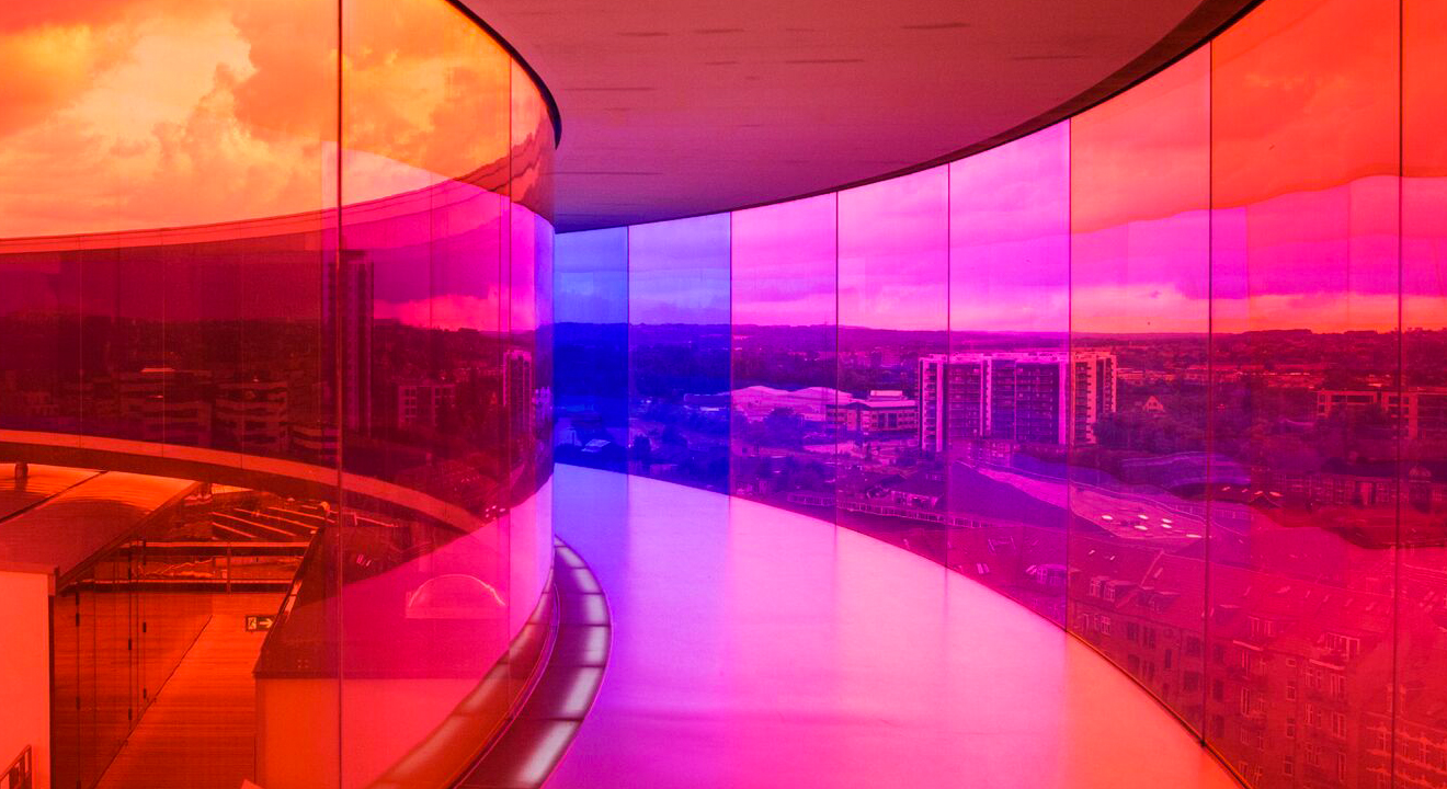 Our colourful city, Aarhus #2/4: ARoS Art Museum