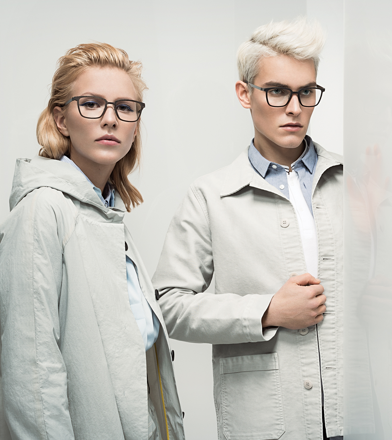 LINDBERG in a contrasting avant-garde DANSK fashion shoot