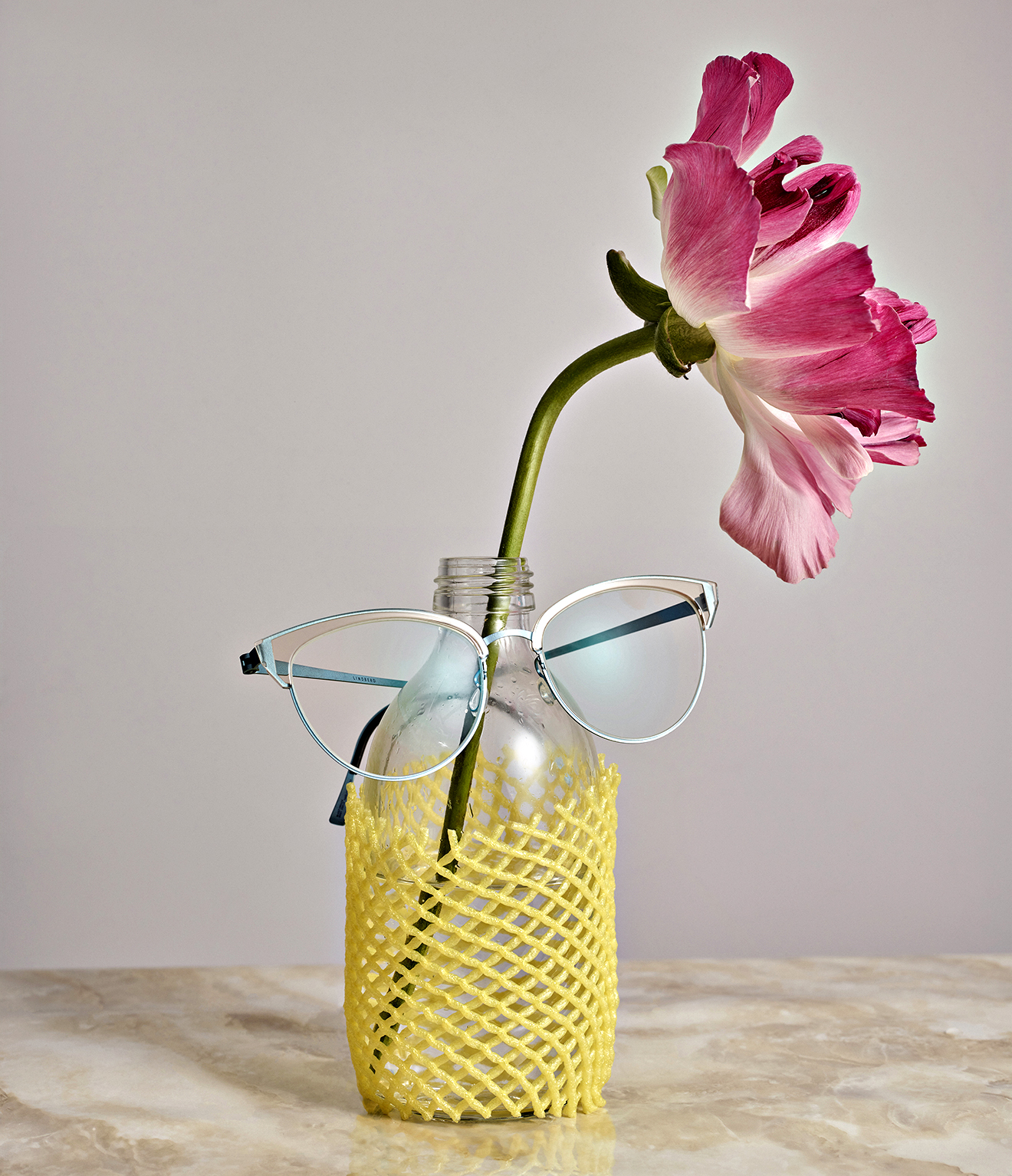 LINDBERG sunnies in retro shoot with Wallpaper