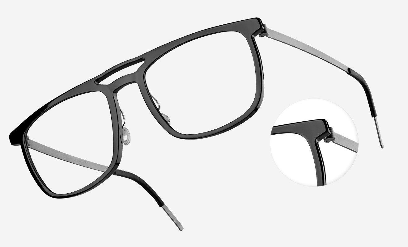 """Framing it right"" - DANSK magazine love LINDBERG Horn glasses"