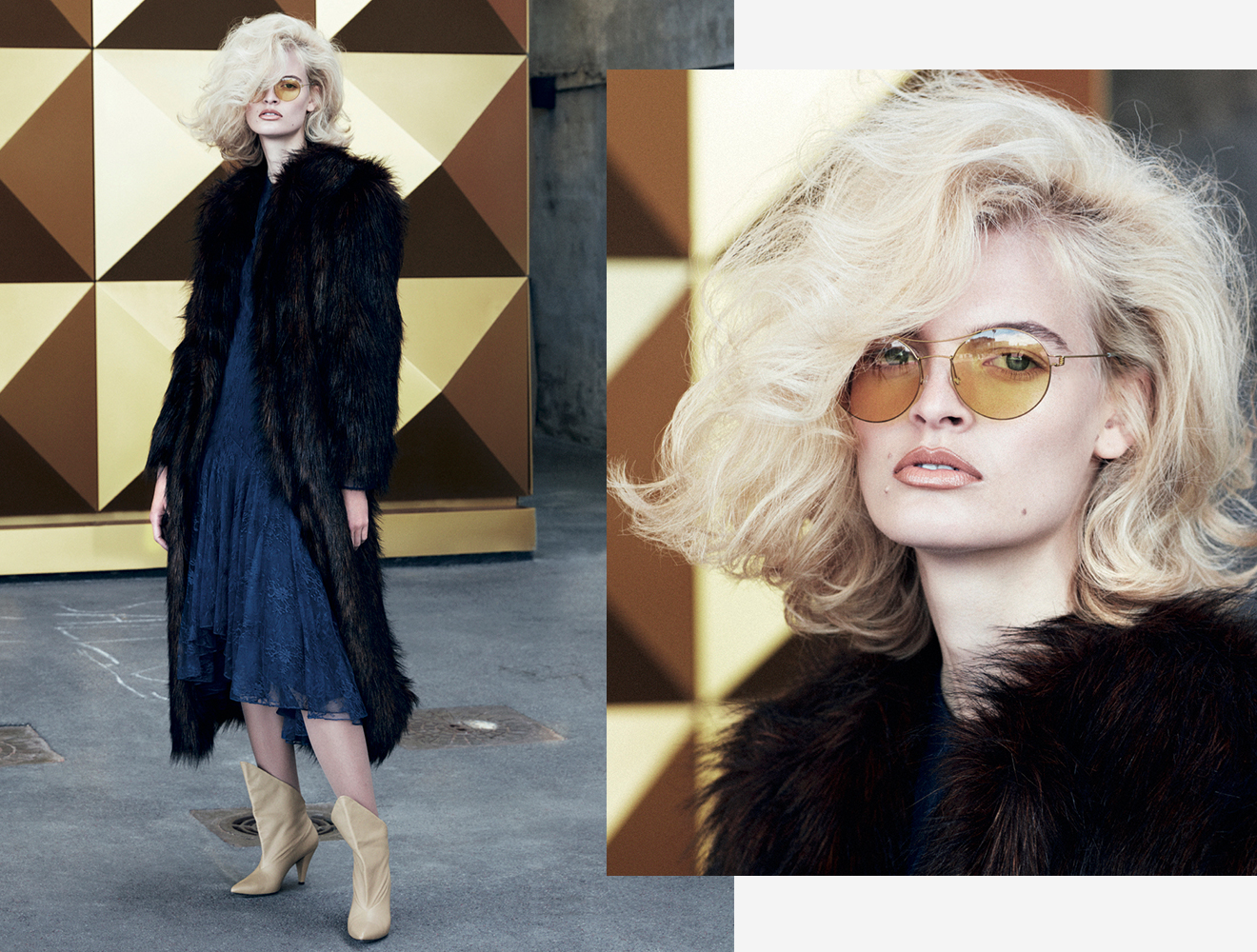 LINDBERG statement sunglasses in Brigitte Magazine
