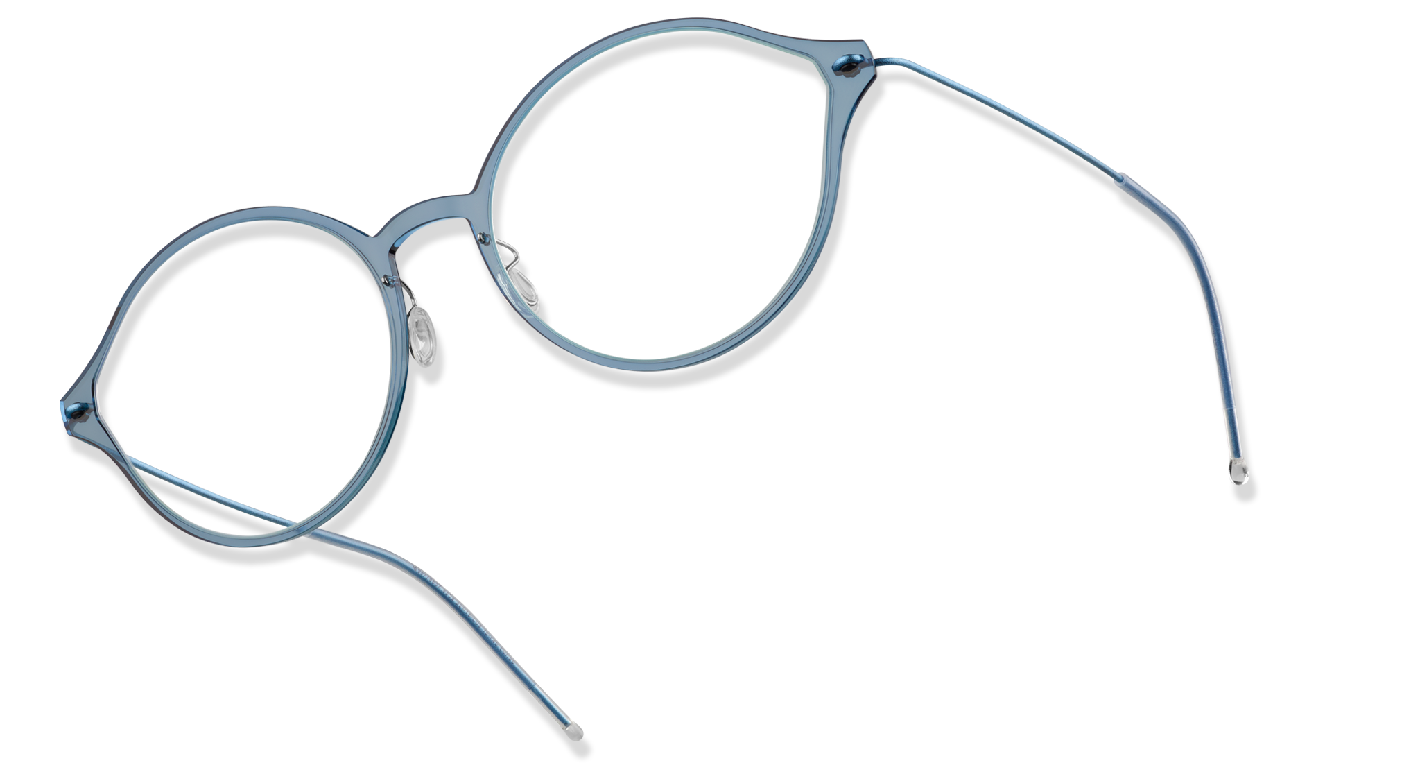 95b076777d4 Combining the remarkably thin composite front and ultra-lightweight  titanium temples into a minimalistic design