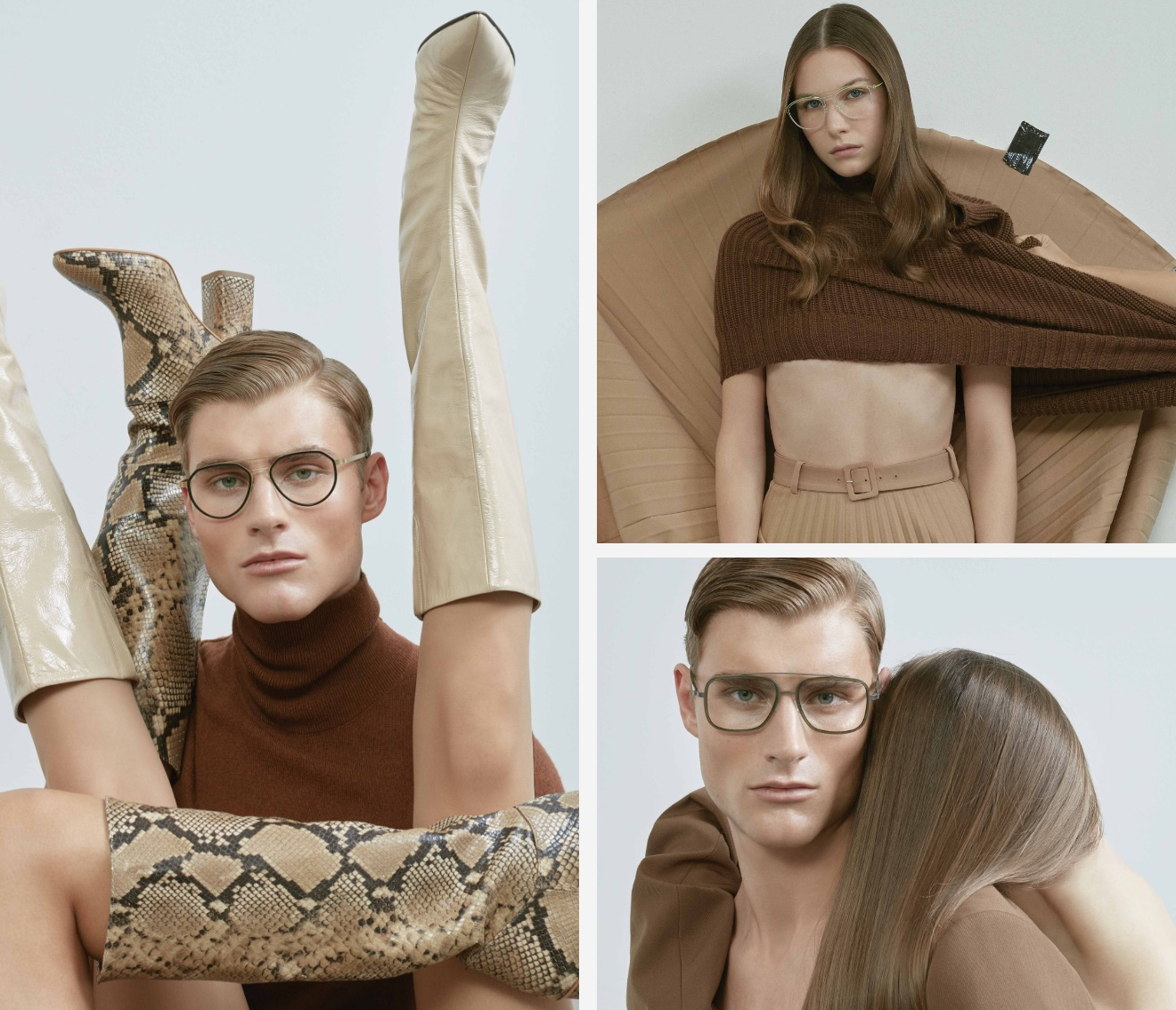 LINDBERG in 70's retro fashion shoot